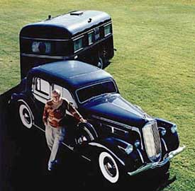 1936 Pierce-Arrow & Travelodge Trailer