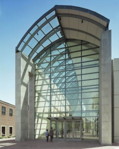 Peabody Essex Main Entrance - Image Courtesy Peabody Essex Museum