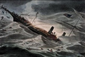 Wreck of the SS Central America