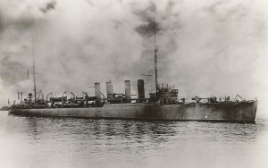 USS Jacob Jones Sunk by a German Submarine in 1942