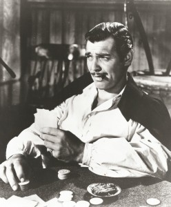Clark Gable as Rhett Butler in Gone With The Wind