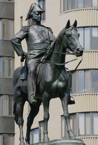 Statue of General Winfield Scott in Washington, DC